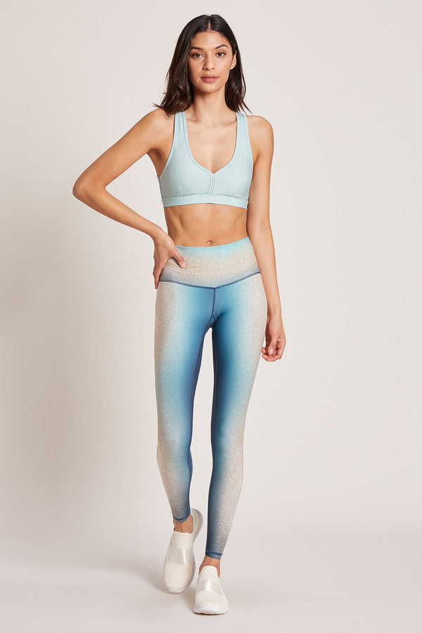 Lagoon Shagreen High Waisted Legging