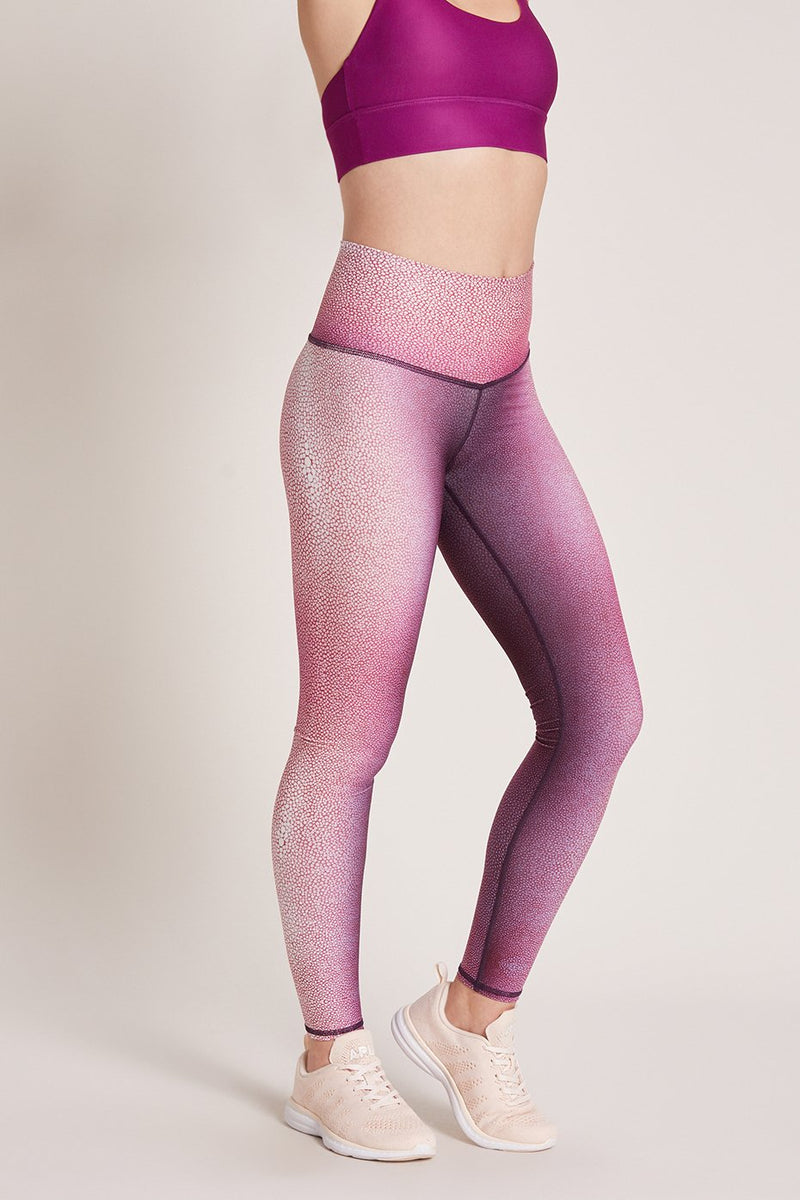 Peony Shagreen High Waisted Legging