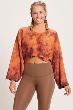 Crop Sweatshirt - Sacred Earth