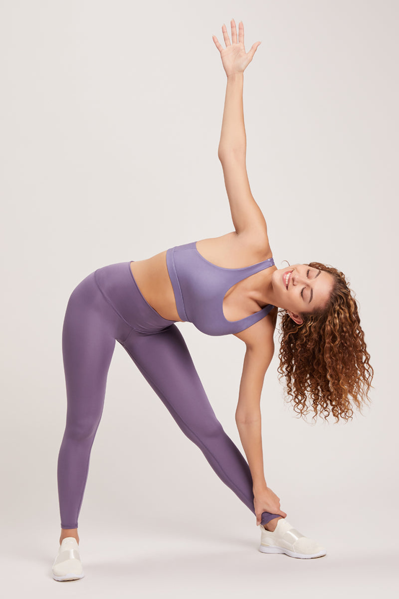 Barefoot High Waisted Legging - Vivid Amethyst