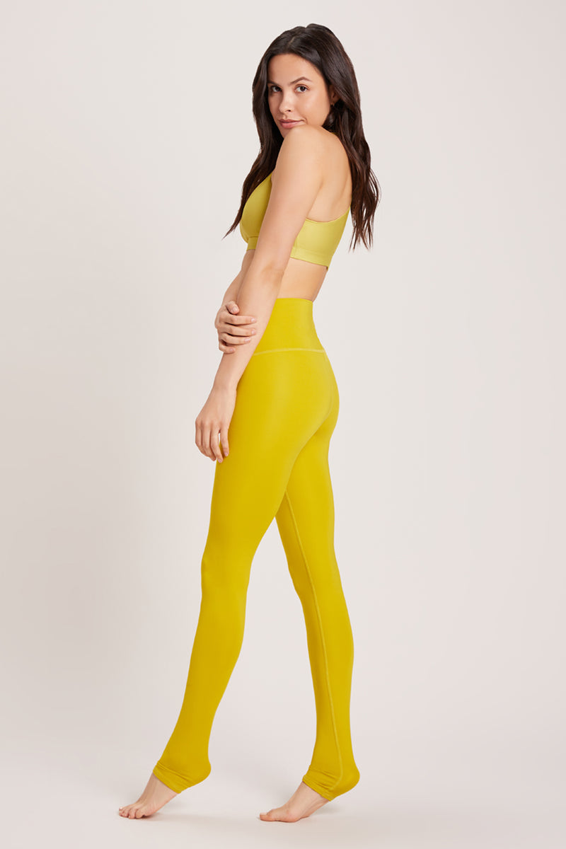 Endless High Waisted Legging - Vivid Chartreuse