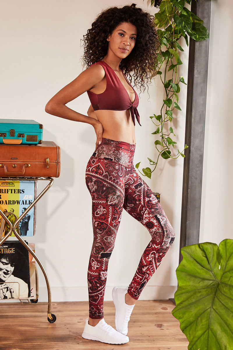 California Love High Waisted Legging