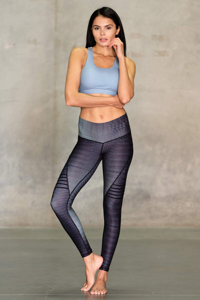 Croc High Waisted Slice Legging - Niyama Sol