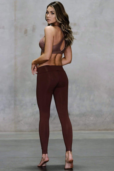 High Waisted Sandblast Legging - Niyama Sol