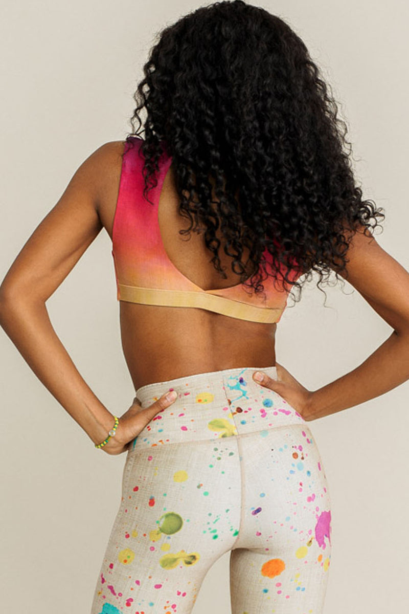 Knotty Sports Bra - Sunset