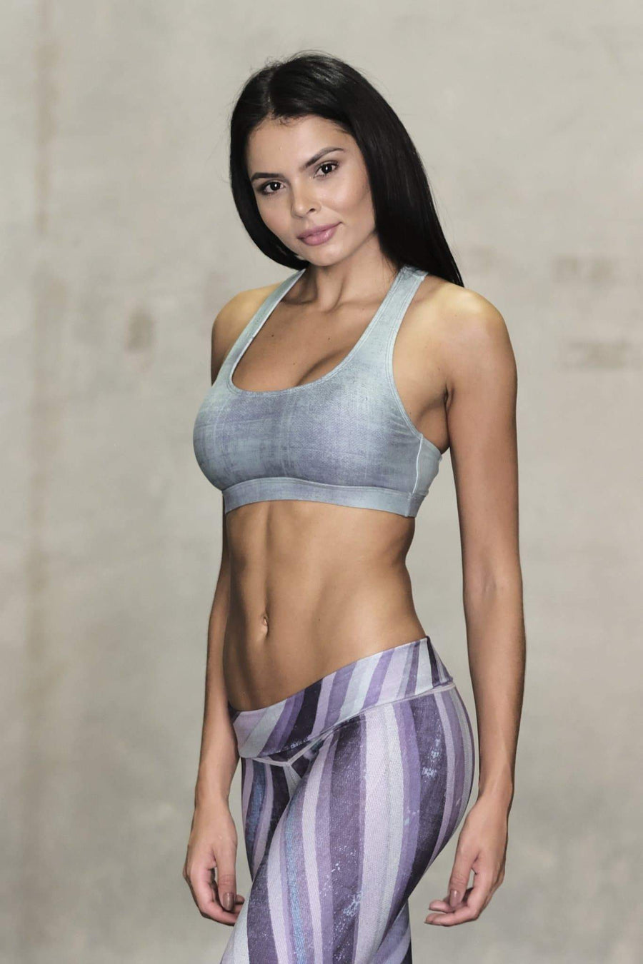 Mint Weaver Sports Bra - Niyama Sol