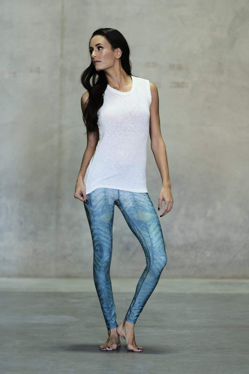 Sea Glass Barefoot Legging - Niyama Sol