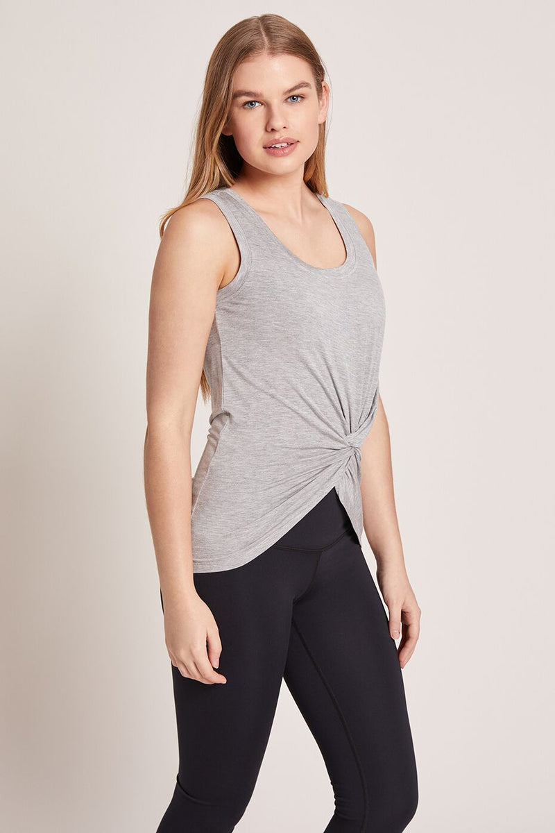 Tie Tank Top - Heather