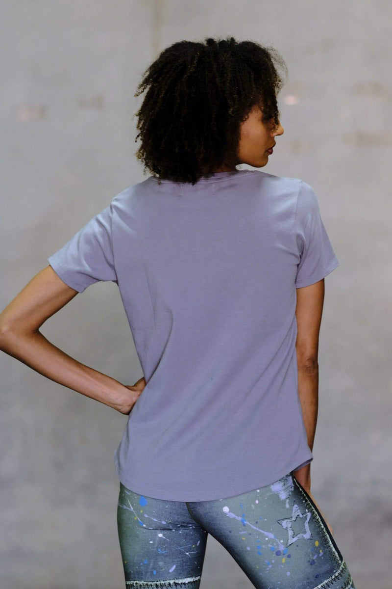 V-Neck Pocket Tee - Niyama Sol
