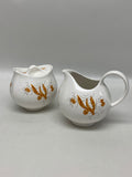 Eva Zeisel Hallcraft Arizona Pattern Cream & Sugar