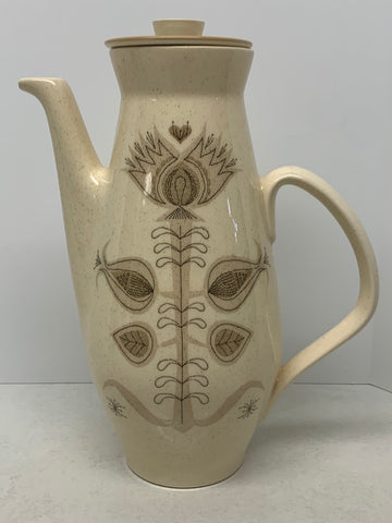 Franciscan Earthenware Coffee Server - Spice Pattern