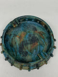 Alvino Bagni Italian Pottery Sea Garden Ashtray