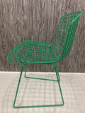 Harry Bertoia Side Chair by Knoll - Green