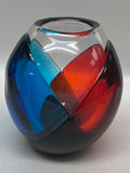 "Blenko Glass Prototype Artist Proof ""Cloak"" Vase 2019"