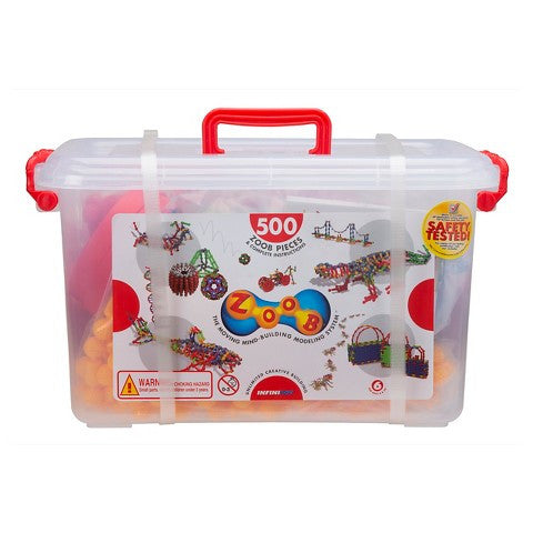 ZOOB® 500 Building Pieces - KIDTON - 1