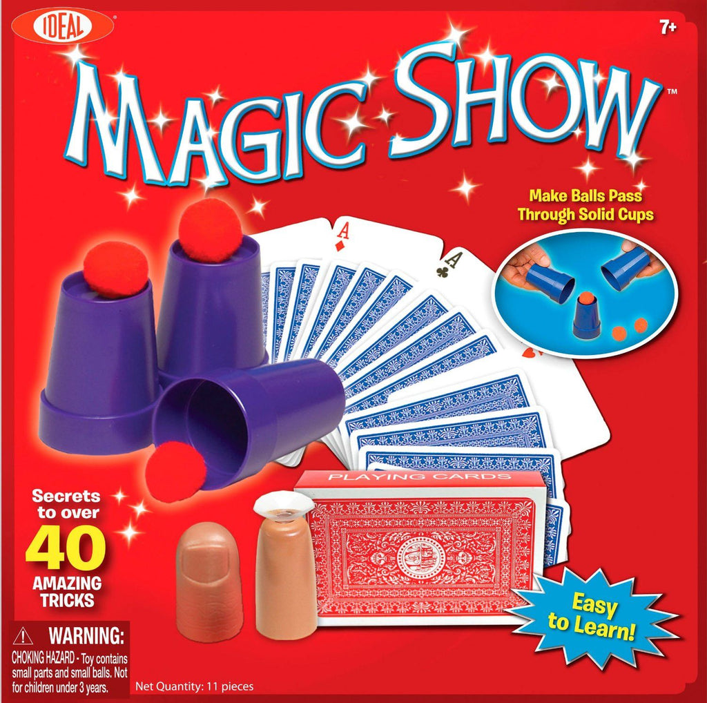 40 Trick Magic Show™ Kit - KIDTON