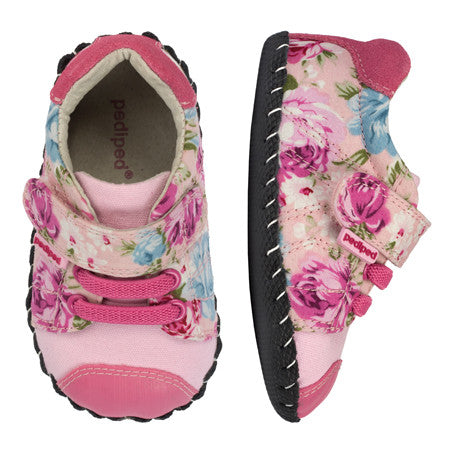 Pediped Originals - Jake Pink Floral - KIDTON - 1