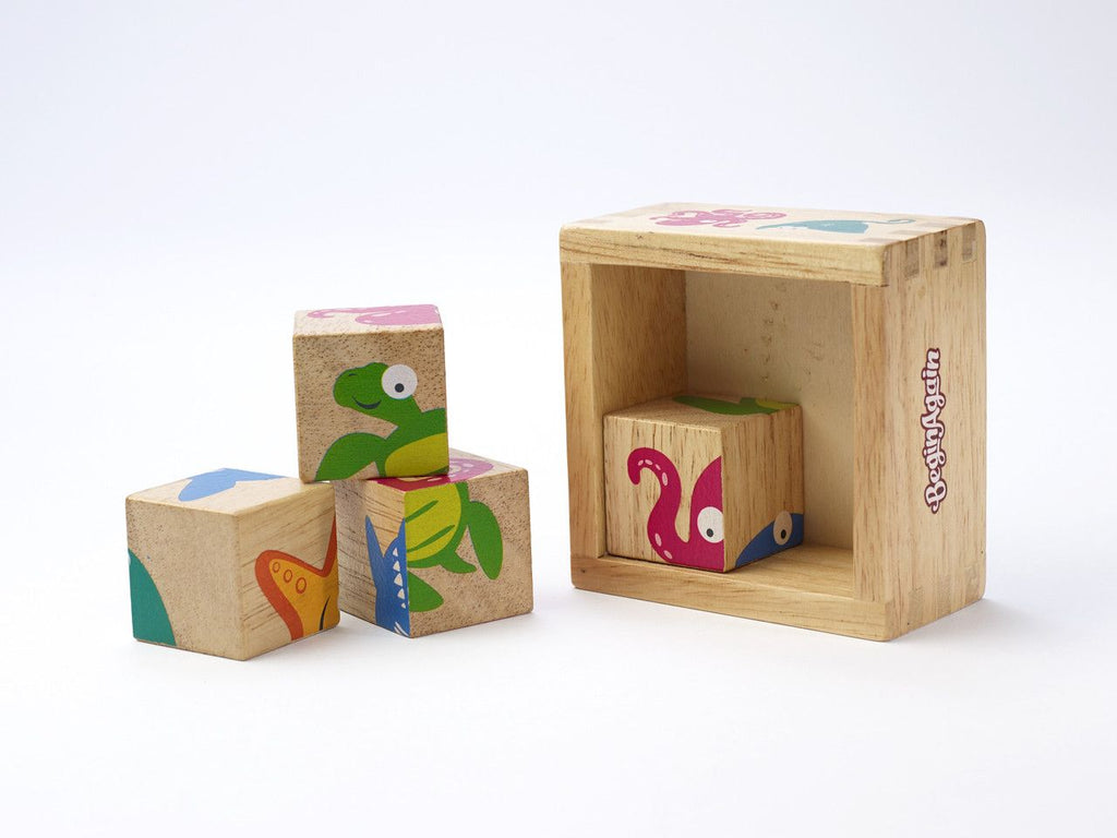 Buddy Blocks - Sealife Characters - KIDTON - 1