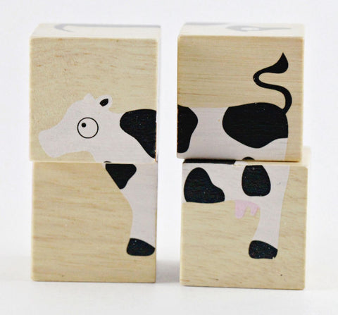 Buddy Blocks - Farm Animals - KIDTON - 1
