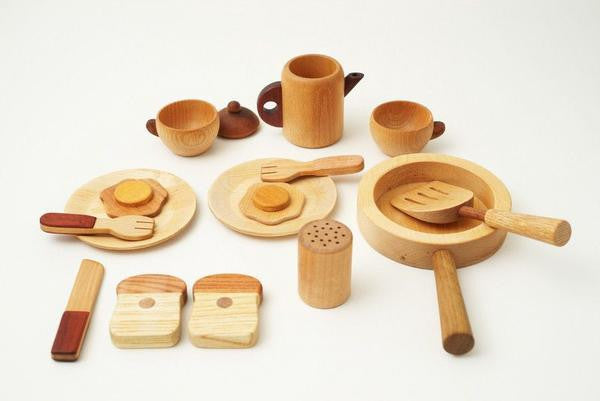 Soopsori Collection - Chef Set & Vegetables Fruits Playset