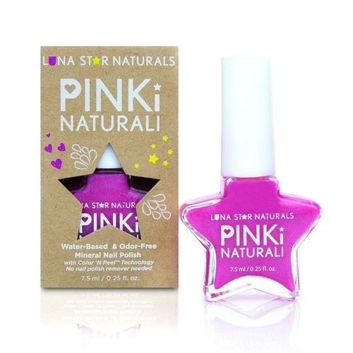DENVER (Hot Pink), Water-Based NAIL POLISH - KIDTON - 1