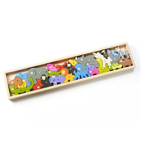 Animal Parade A to Z Puzzle - KIDTON - 1