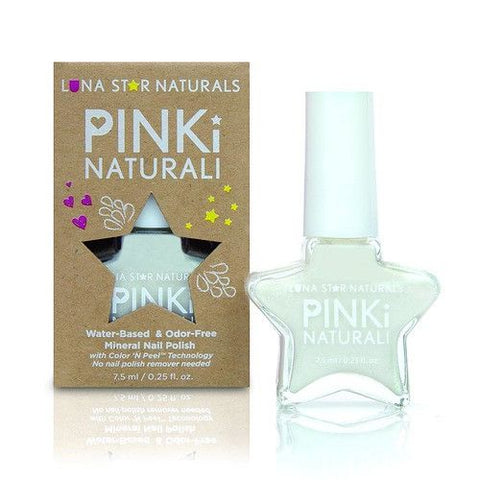 JUNEAU (Pearly White), Water-Based NAIL POLISH - KIDTON - 1