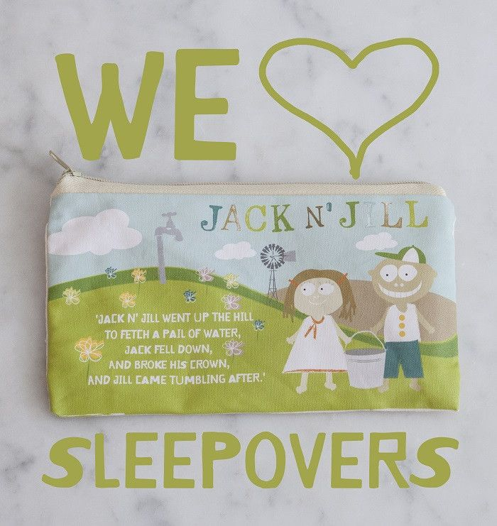 Jack n Jill Natural Cotton Sleepover Bag - KIDTON - 1