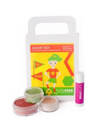 Soccer Star Natural Play Makeup 4 Piece Kit - KIDTON - 1