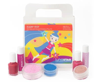 Super Star Natural Play Makeup 7 Piece Kit - KIDTON - 1