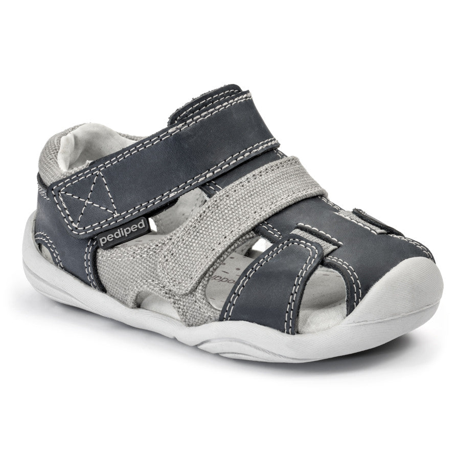 Pediped Grip N Go - Joshua Navy/Grey - KIDTON - 1