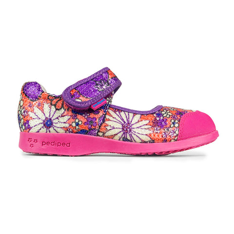 Pediped Flex - Bree Orange Floral