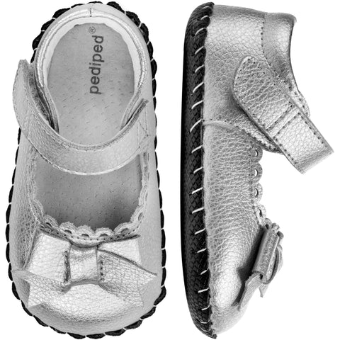 Pediped Originals - Betty, Sliver Leather