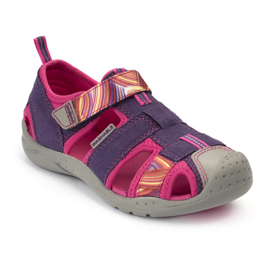 Pediped Flex - Sahara Purple Swirl - KIDTON - 1
