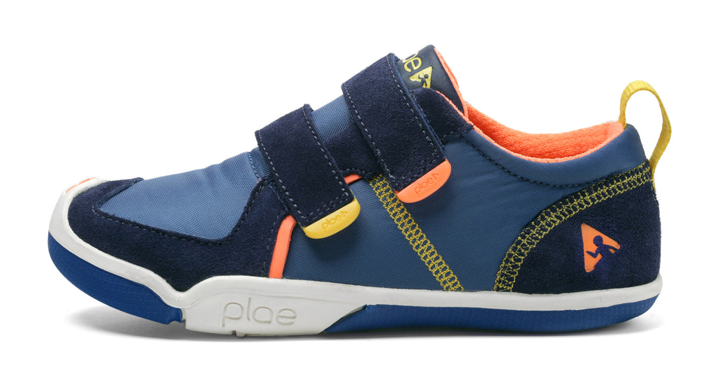 Ty - The Sneaker, Denim / Navy - KIDTON - 1