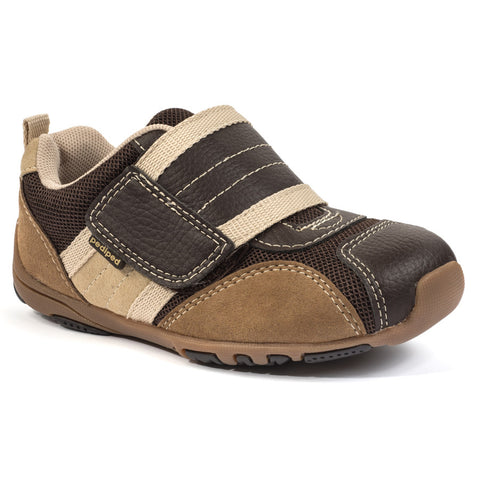 Pediped Flex - Adrian Chocolate/Brown - KIDTON - 1