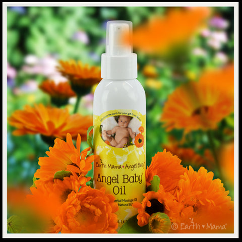Angel Baby Oil 4oz - KIDTON - 1