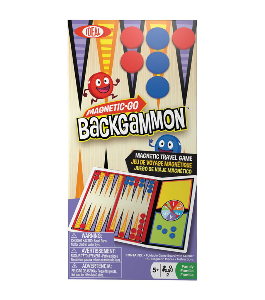 Magnetic Go! Games - Backgammon - KIDTON - 1