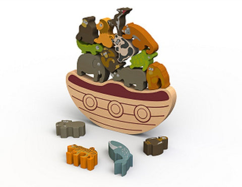 Balance Boat Endangered Animals - KIDTON - 1
