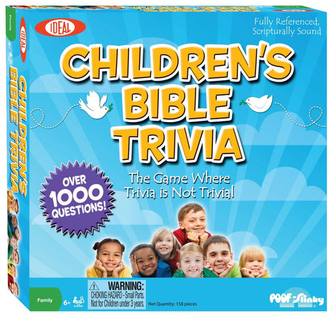 Children's Bible Trivia™ - KIDTON - 1