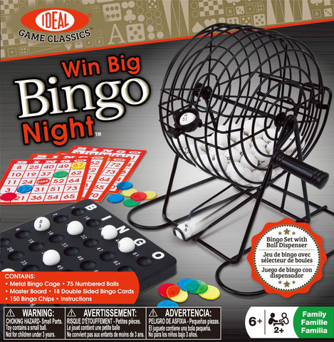 Win Big Bingo Night - KIDTON - 1