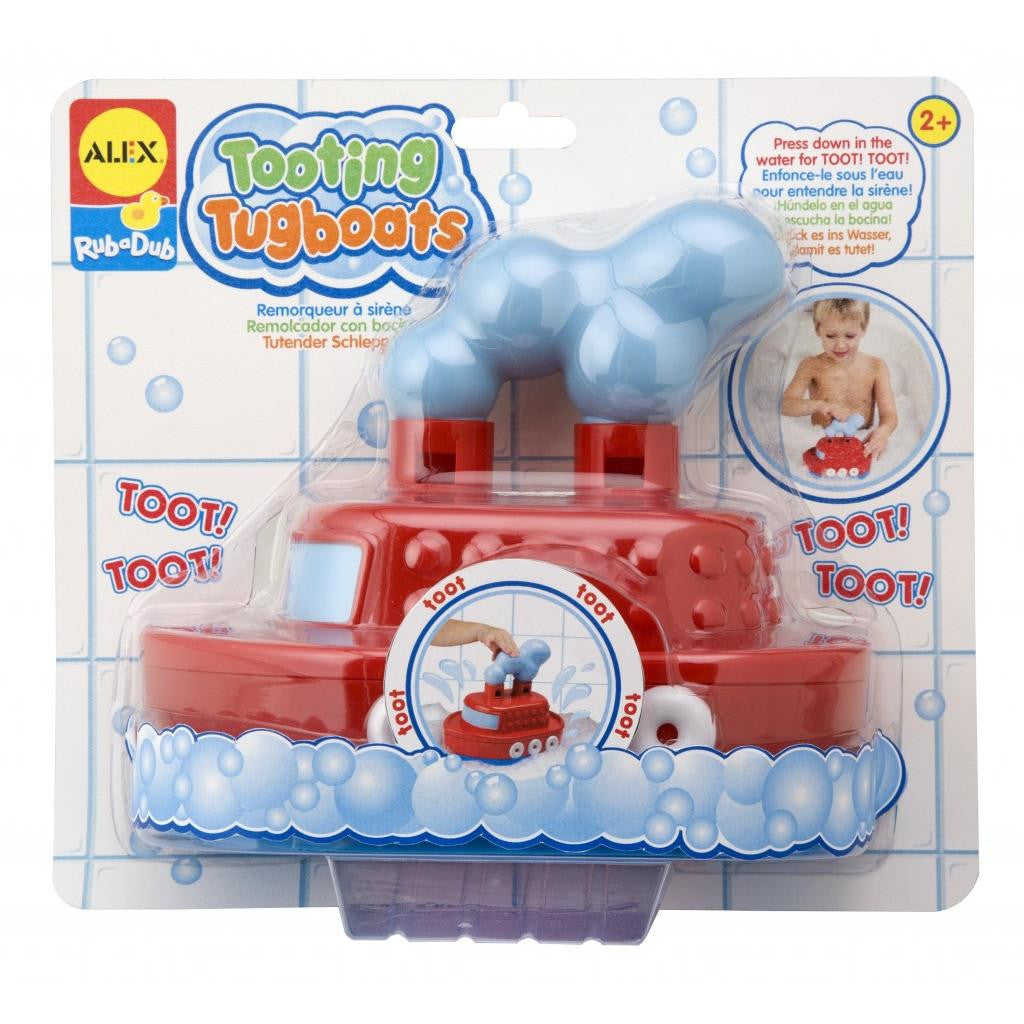 Bath Boat toy - Tooting Tugboat™