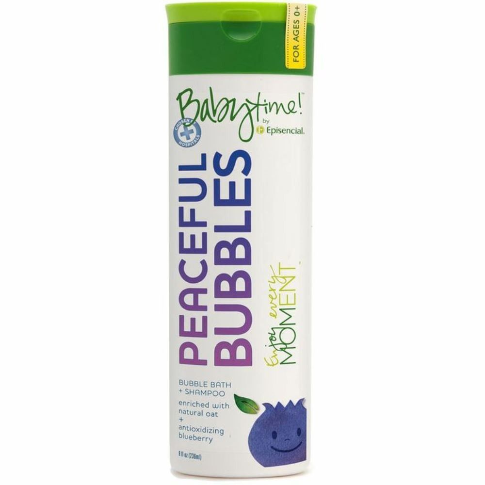 Babytime! by Episencial Peaceful Bubbles 8oz - KIDTON - 1