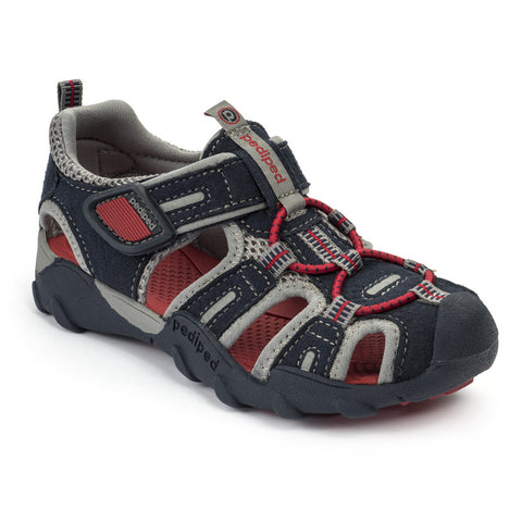 Pediped Flex - Canyon Navy/Red - KIDTON - 1