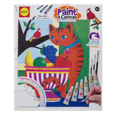 Paint a Canvas™- Cat - KIDTON
