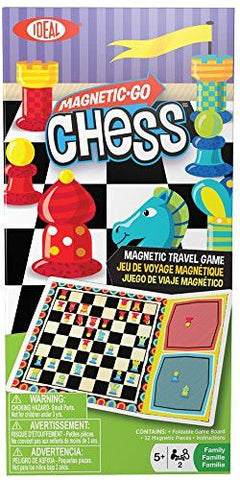 Magnetic Go! Games - Chess - KIDTON