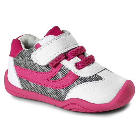 Pediped Grip N Go - Cliff White Fuchsia
