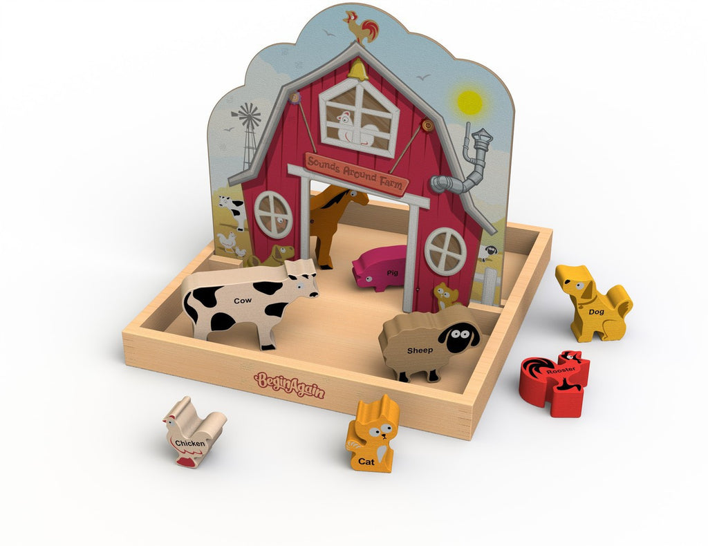 Sounds Around The Farm Story Box - KIDTON - 1