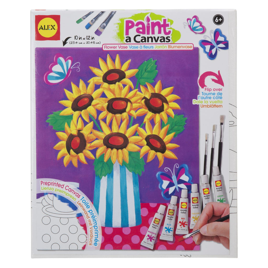 Paint a Canvas™- Flower Vase - KIDTON
