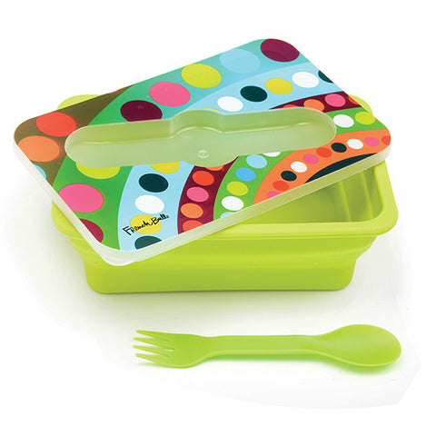 French Bull Bindi Pop Up Silicone Single Lunch Box - KIDTON - 1